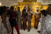 My Mother's Wardrobe, 2016, exhibition view, photo by Nii Odzenma, photo courtesy Serge Attukwei Clottey
