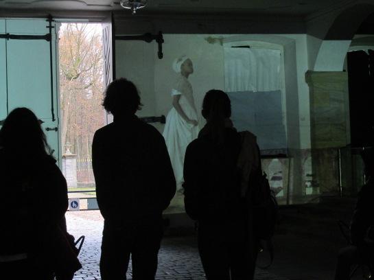 Kitso Lynn Lelliott, Alzire of Bayreuth, 2015, installation view inside Neues Schloss Bayreuth