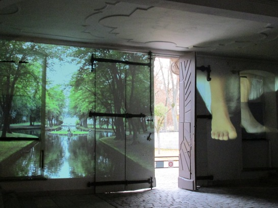 Kitso Lelliott, Alzire of Bayreuth, Neues Schloss (Bayreuth), installation view