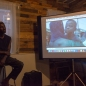 "Film screening of Serge Attukwei Clottey's ""The Displaced"", photo by Lori Waselchuk"