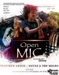 Open Mic flier design by Jacquan Hasheen Fields