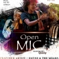 Open Mic flier design by Jacquan Hasheen Fields