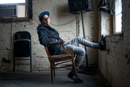 Ethan Mintz, Marsten House Recording Studio, photo by Lori Waselchuk