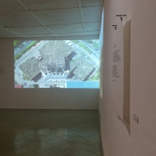 Aisha Nelson, Wɔba… , 2013, text on cartridge paper, 42 cm x 59.4 cm, installation view, photo by Elolo Bosokah