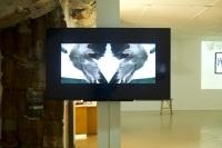 Kelvin Haizel, Bangbang33, 2016, 20 minutes, video still, 60' flatscreen monitor, installation view, photo by Elolo Bosokah