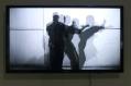 Kwabena Afriyie Poku, Jazz of Katas, 2018, four-screen video installation, 4 minutes each, detail view, photo by Elolo Bosokah