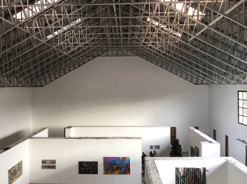 SCCA, Tamale, exhibition space. Image courtesy of the artist and SCCA.